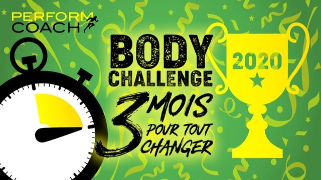 Body Challenge 3 Mois 2020